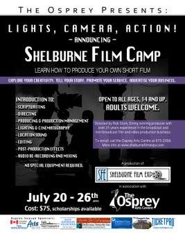 Shelburne Film Camp