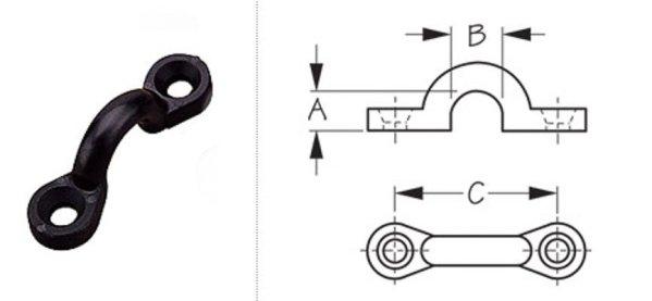 Eye Strap Loop / Pad Eye 4