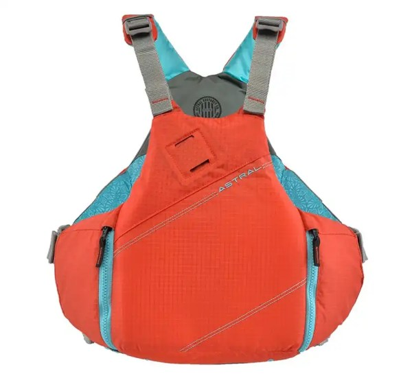 Astral YTV PFD hot coral
