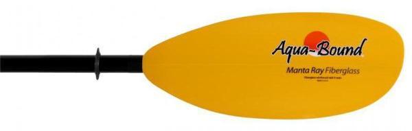 Aqua bound manta ray fiberglass kayak paddle