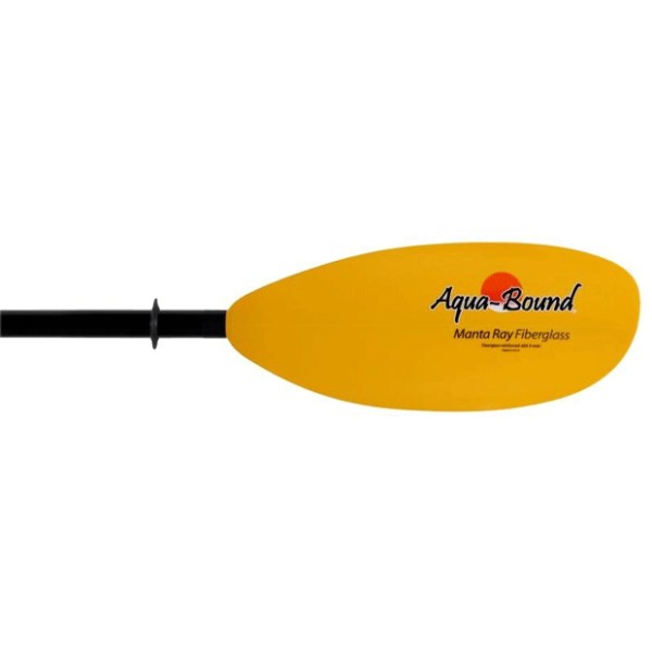 aquabound Manta Ray fiberglass kayak paddle