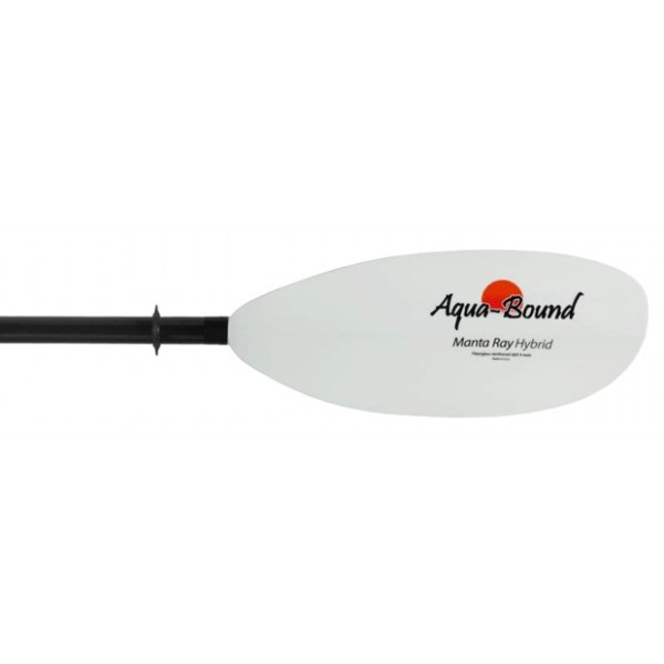 Manta Ray hybrid kayak paddle