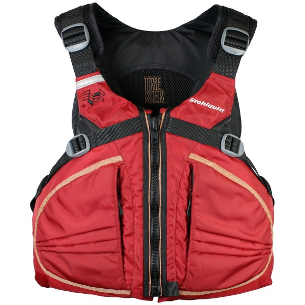 Stohlquist Trekker PFD deep red stohlquist