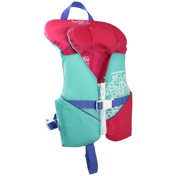 stohlquist infant pfd pink aqua