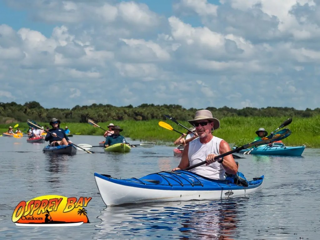 paul on Myakka River Paddle trip