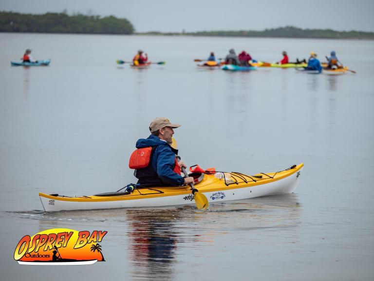 Kayaking at Ft Desoto