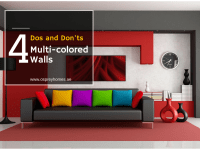 4 Dos and Don'ts for Multi-colored Walls