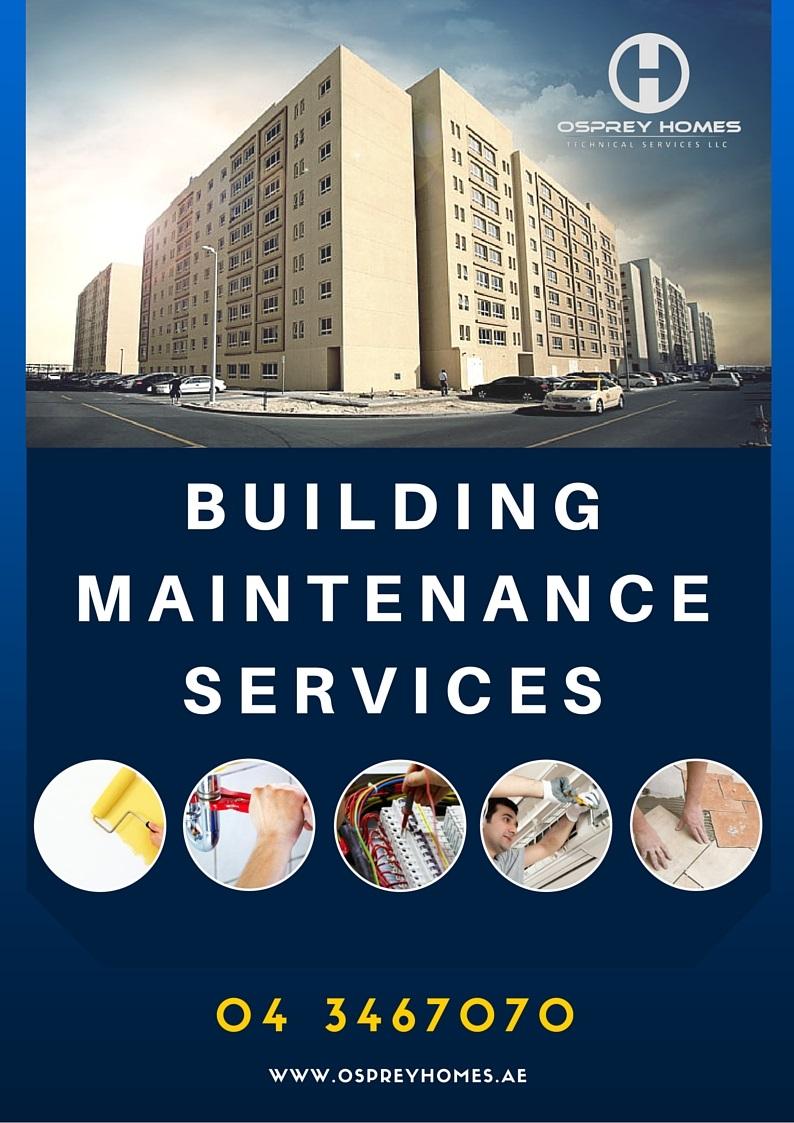 Building Maintenance Services Company in Dubai  Osprey Homes