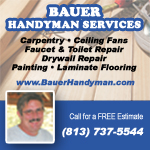 Bauer Handyman Shop Local
