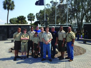 boy scoutsMacDill AFB Campout & Tour