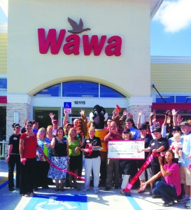 The grand opening of the store on Bloomingdale Ave. in Riverview saw a huge turnout.