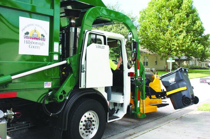South County Sanitary Service : County starts new automated garbage recycling yard
