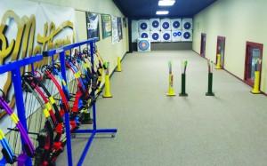 adv archery shooting range