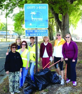 BJWC Road Clean Up