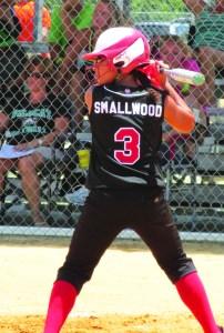SPORTSJada Smallwood_at bat