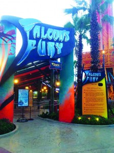 Falcon's Fury Queue Line