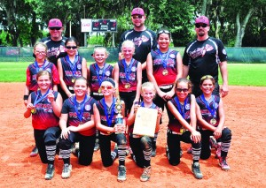 SPORTS_2015 10U EastBay Softball AllStar District 10 Champs