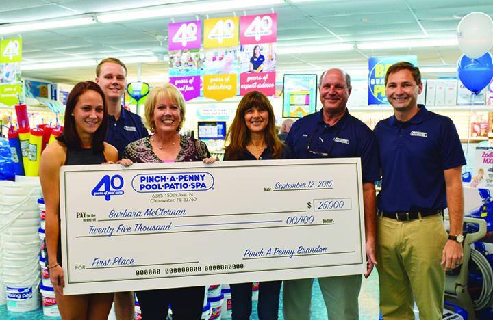 Local Customer Wins 25 000 Grand Prize From Brandon Pinch