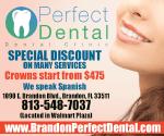 Perfect Dental website