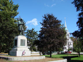 Downtown Amherst, NH