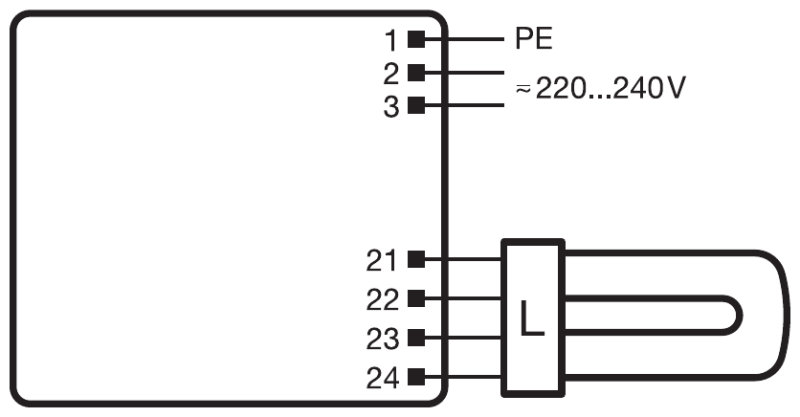 2g11 wiring diagram pro elec lamp holder g compact