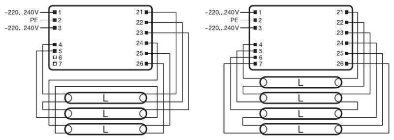 Osram Quicktronic Ballast Wiring Diagram Electronic Metal
