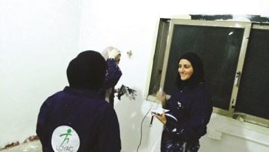 Photo of شابات «هومز لوياك» يرسمن البسمة على وجوه الأسر المتعففة