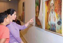 Photo of في معرض خليفة القطان العاشر للفنون التشكيلية للأطفال والناشئة..