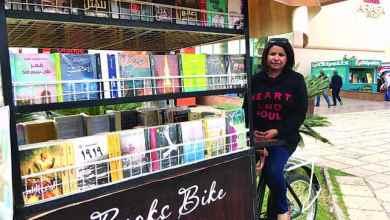 Photo of في مبادرة فريدة من نوعها Books Bike فكرة شبابية %100