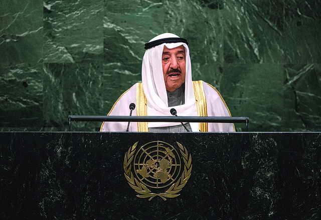 انتماء الكويت للنشاط الدولي لخيـر شعبهـا وشعوب العالـم