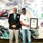 محمد بوربيع بطل العالم في الـ جت سكي