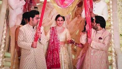 Photo of احتفالات أسطورية للعروسـيـن  إيشا وأناند ابني أثرى أثرياء الهند