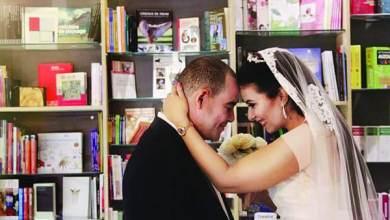 Photo of حفل زفاف داخل مكتبة.. أحدث تقاليع الزواج
