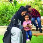الإعلامية صفية الشحي: ابني أعطاني جناحين وابنتي منحتني قلبـاً
