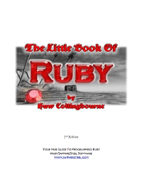 The Little Book of Ruby