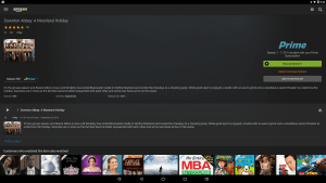Amazon Prime Video Android app