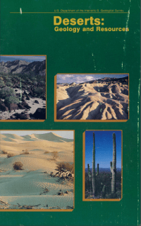 Deserts : geology and resources