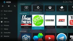 Kodi Android app