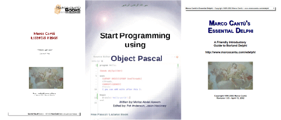 Understand Pascal / Delphi Programming with Free Books - OSS