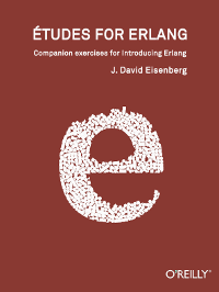 Etudes for Erlang