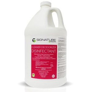 signature g cleaner deodorizer disinfectant concentrate