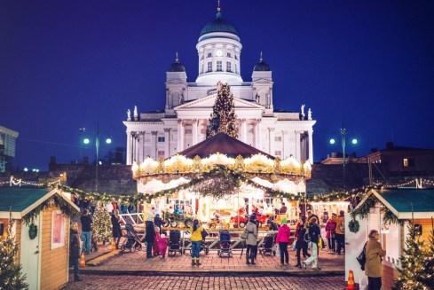 Il mercato di Natale, foto Jussi Hellsten - Helsinki Marketing
