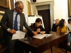 La Presidente del Tribunale dei Minori di Roma firma il protocollo
