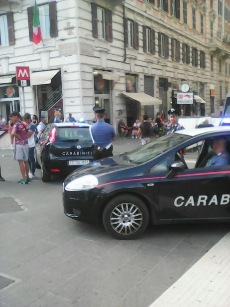 TRIONFALE - Controlli antidegrado dei Carabinieri nel quartiere Flaminio (5)