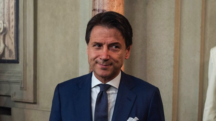 ROME, ITALY - AUGUST 29: Giuseppe Conte, Italian Prime minister designate, leaves from Quirinal palace after being appointed by Italian President Sergio Mattarella for the formation of the new government, on August 29, 2019 in Rome, Italy. (Photo by Antonio Masiello/Getty Images)