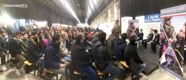 Salone Studente 2016 Firenze: incontro con le Forze Armate
