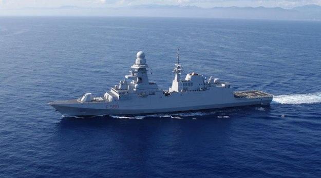 La nuova Fregata Bergamini in navigazione