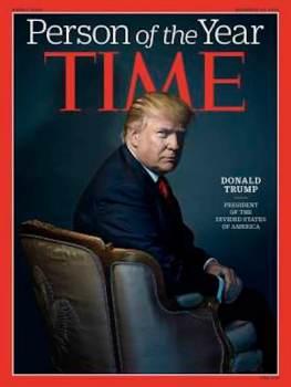 La copertina di Time dedicata a Donald Trump