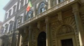 La storica sede della Banca d'Italia a Firenze