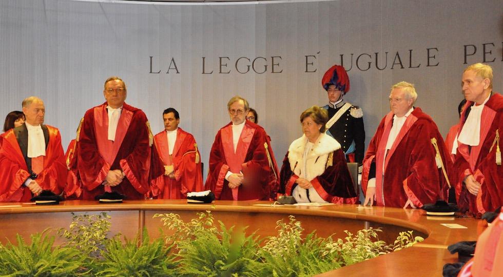 La presidente Margherita Cassano inaugura l'anno giudiziario 2018 a Firenze